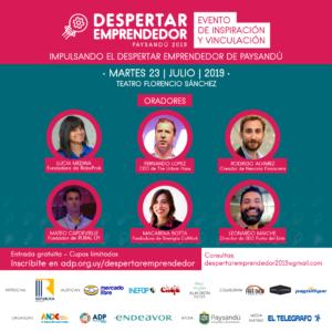 Despertar Emprendedor 2019 @ Teatro Florencio Sánchez