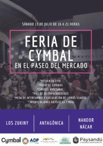 Feria de Cymbal en el Paseo del Mercado @ Paseo del Mercado