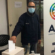 Andrés Silvestre vota en las elecciones de la Agencia de Desarrollo